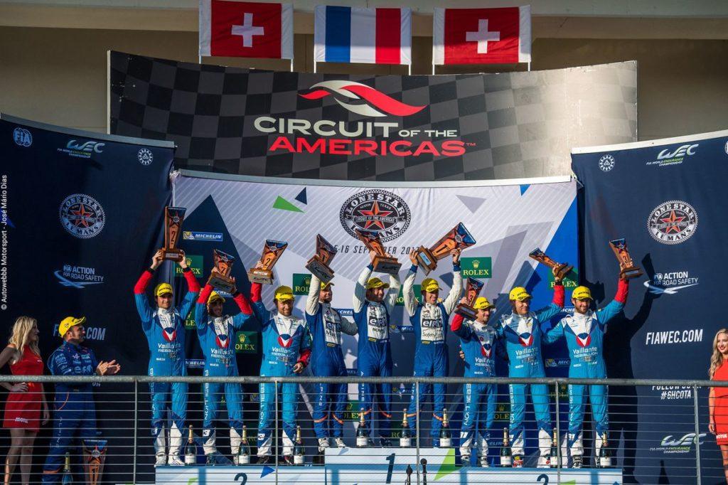 FIA WEC - Double podium à Austin pour Vaillante Rebellion !