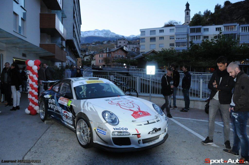 RIV 2017 - Interview du célèbre copilote Denis Giraudet avant le départ du Rallye du Valais
