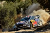 WRC – Ogier hold second after a close fight on gravel