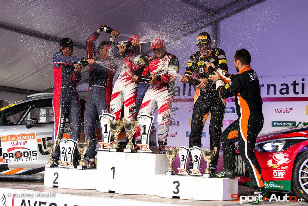 RIV 2017 - Victoire de l'Italien Basso au Rallye International du Valais!