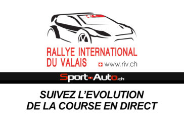 LIVE – Rallye International du Valais 2017 – Suivez l'évolution de la course en direct