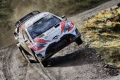 WRC – Latvalla leads Toyota effort after a though day in Wales