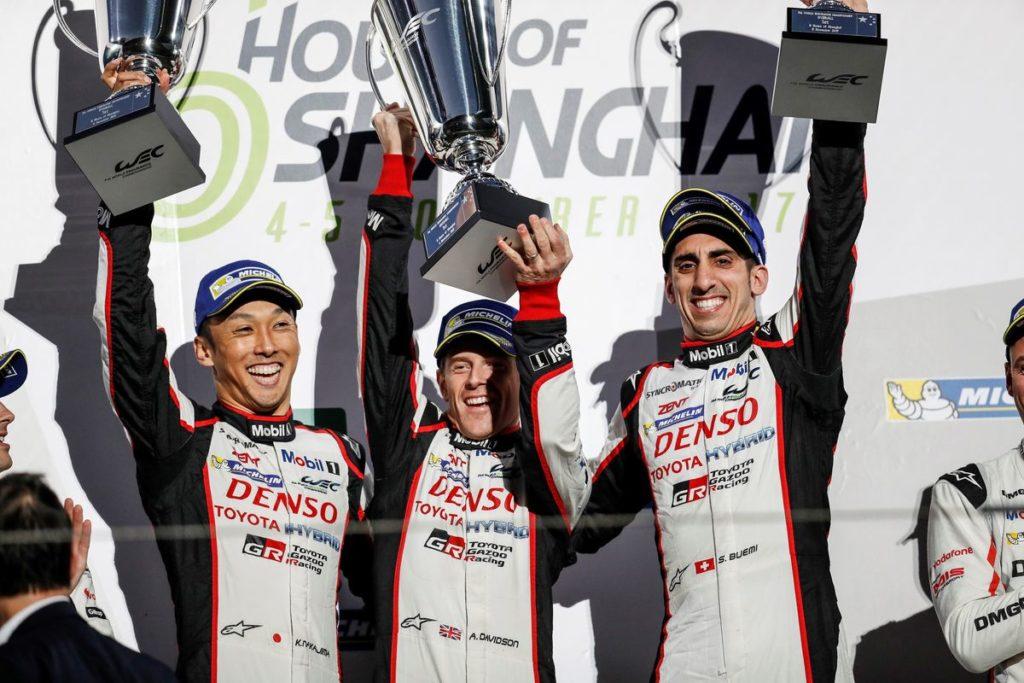 FIA WEC - 6 Heures de Shanghaï: la victoire à Sébastien Buemi et le titre à Porsche