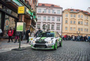 Škoda Motorsport et Jan Kopecký jouent au Taxi pour les fêtes…