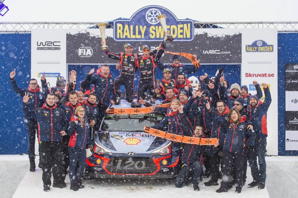 WRC - Thierry Neuville tout schuss sur la neige suédoise