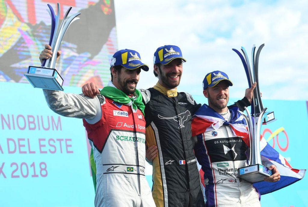 Formule E: Seconde victoire pour Jean-Eric Vergne