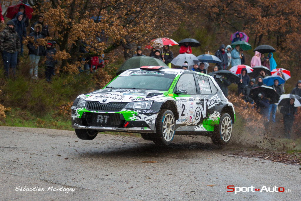 Rallye Gier 2018 - #2 Ivan Ballinari Paolo Pianca - Skoda Fabia R5