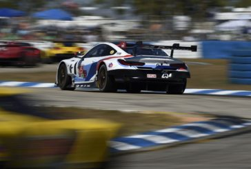 Neuer BMW M8 GTE feiert beim 12-Stunden-Rennen von Sebring ersten Podestplatz