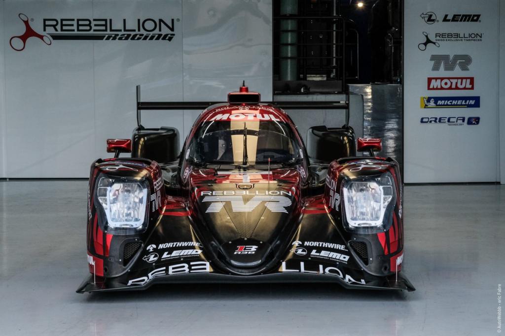 La Rebellion R13 à l'essai au Prologue FIA WEC