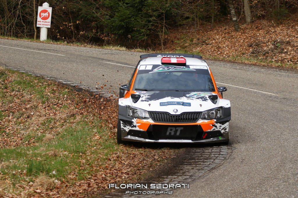 Rallye du Florival : Podium pour Olivier Burri - Christophe Cler