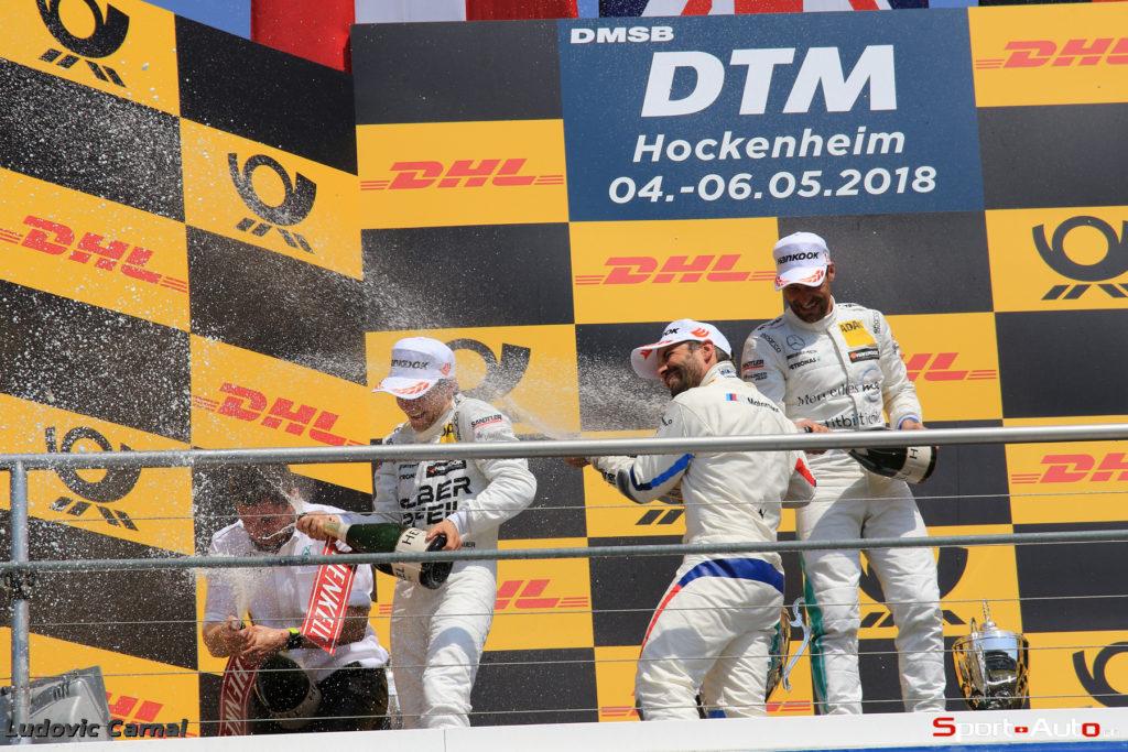 DTM - Doublé Mercedes à Hockenheim, Edoardo Mortara au pied du podium