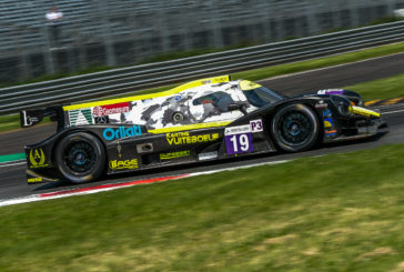 Lucas Légeret en manque de réussite à Monza !