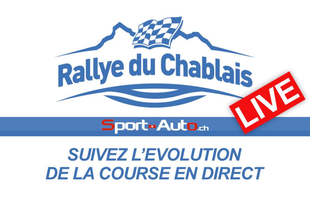 LIVE - Rallye du Chablais 2018 - couverture exceptionnelle de Sport-Auto.ch