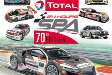 Total 24 Hours of Spa celebrates 70th edition with birthday card-inspired poster