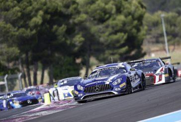 Vier Mercedes-AMG GT3 in den Top Ten und drei Klassenpodien in Paul Ricard