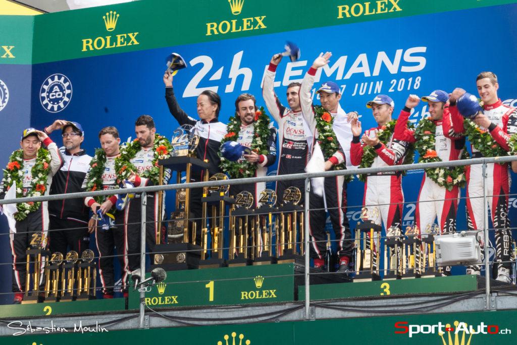 24h du Mans : Toyota, enfin ! Victoire de Buemi et podium pour Rebellion !