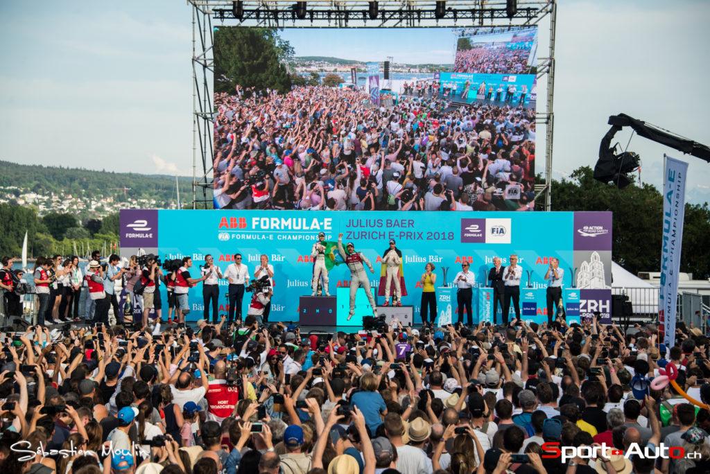 Formula E - ePrix de Zurich : Lucas di Grassi s'impose devant la foule des grands jours