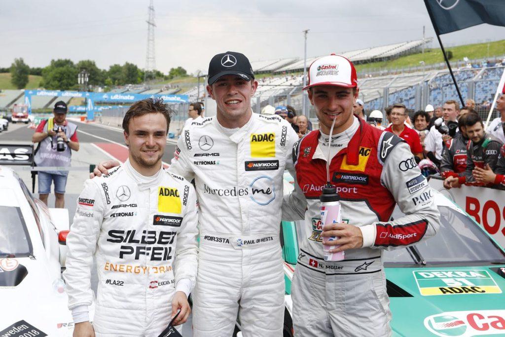 DTM – Nico Müller sur le podium, Top 5 pour Edoardo Mortara