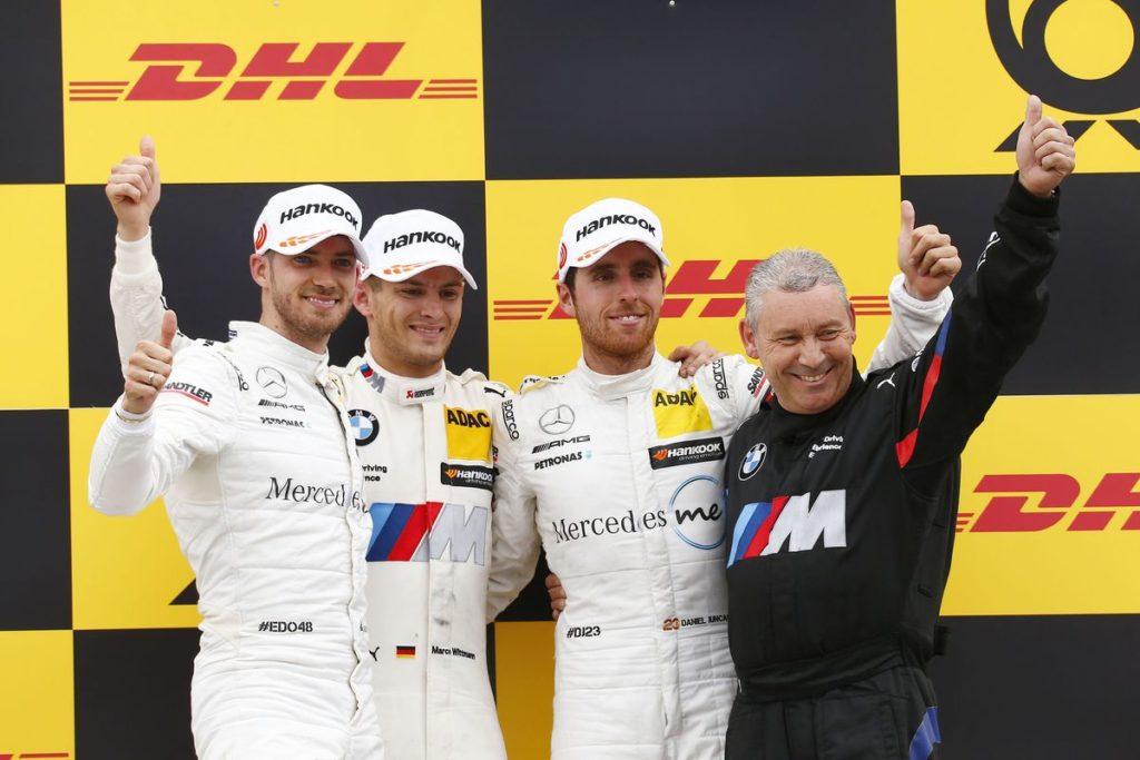 DTM – Edoardo Mortara passe deuxième du championnat après un nouveau podium