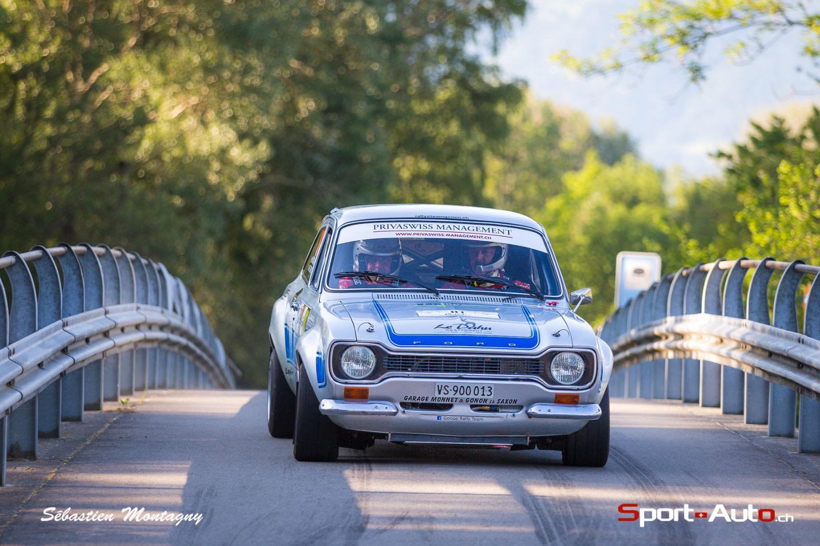 Rallye du Chablais VHC : domination sans partage de Florian Gonon - Michel Horgnies