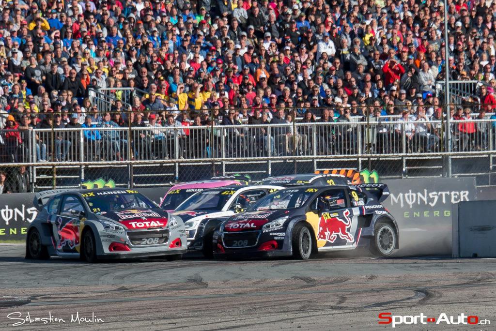 World RX- Riga : Nico Müller pris au piège en demi-finale (vidéo)