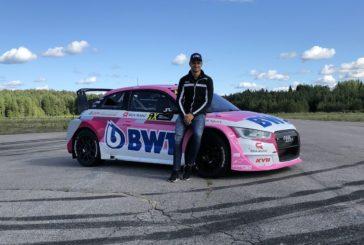 Rallycross: three times EKS Audi Sport in Riga