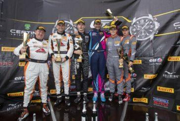Alain Valente erneut auf dem Podium in der GT4 European Series!