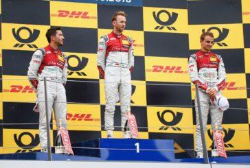 DTM – Nico Müller troisième d'un triplé Audi