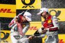 Seriensieger René Rast hält mit viertem DTM-Triumph in Folge den Titelkampf offen