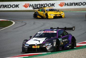 Drei BMW M4 DTM im Sonntagsrennen in Spielberg in den Punkterängen