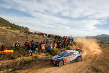 WRC – Home hero Dani Sordo registered a stage win on the afternoon loop to hold a provisional podium position in second overall