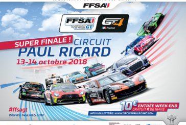 GT4 France – Jonathan et Pierre Hirschi au départ de la finale au Castellet