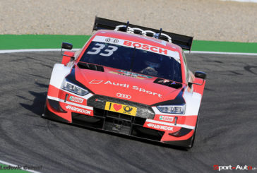 Fifth win in a row: Rast keeps DTM title race open with record