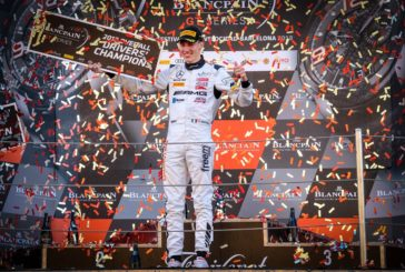 Blancpain GT Series – Raffaele Marciello champion, Emil Frey Racing remporte la Silver Cup, Adrian Amstutz champion AM