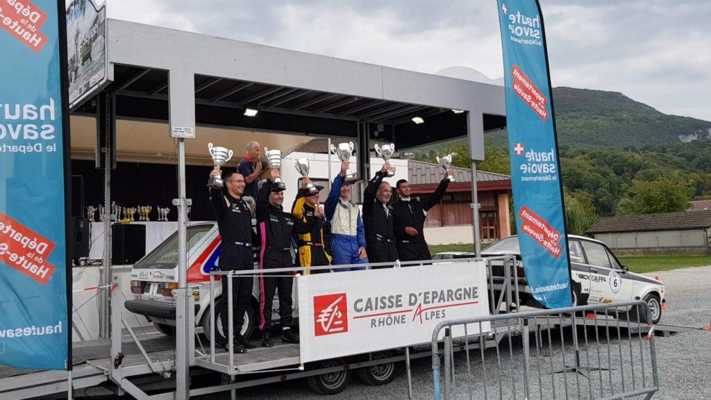 Victoire d'Eddy Bérard - Michael Volluz au Rallye du Pays de Seyssel VHC