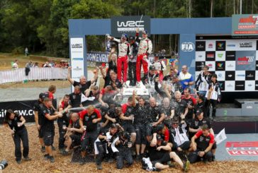 Toyota Gazoo Racing wins the rally and the title in Australia