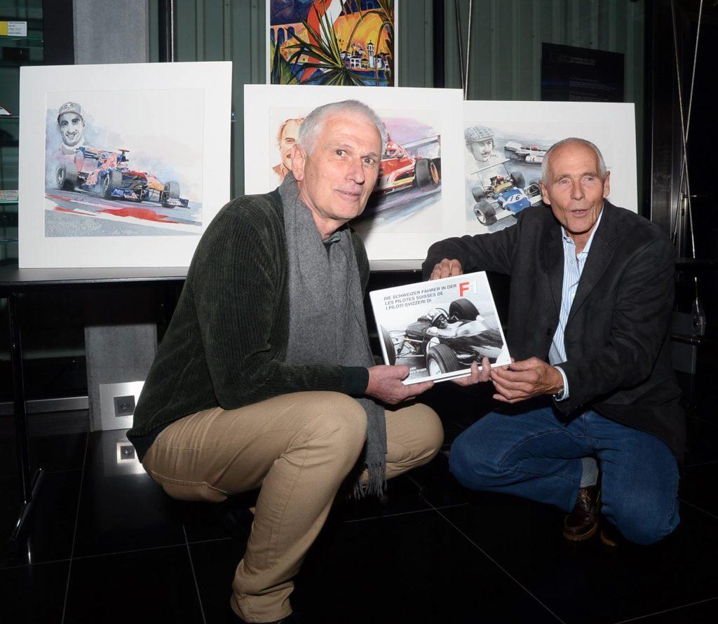Les pilotes suisses de F1 - Tome 1 - fraîchement sorti de presse