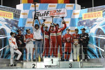 Gulf 12h – Kessel Racing s'impose pour la quatrième fois, Rahel Frey sur le podium Pro-Am
