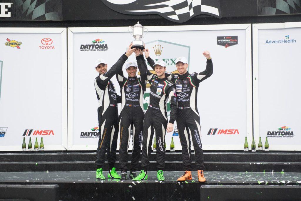 24h Daytona – Victoire en GTD pour Rolf Ineichen