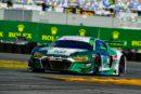 Platz zwei für Audi und Ricardo Feller in Daytona