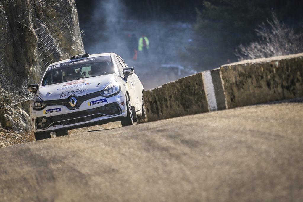 WRC Monte-Carlo -  Courtois place la Clio R3T de Renault Suisse sur le podium