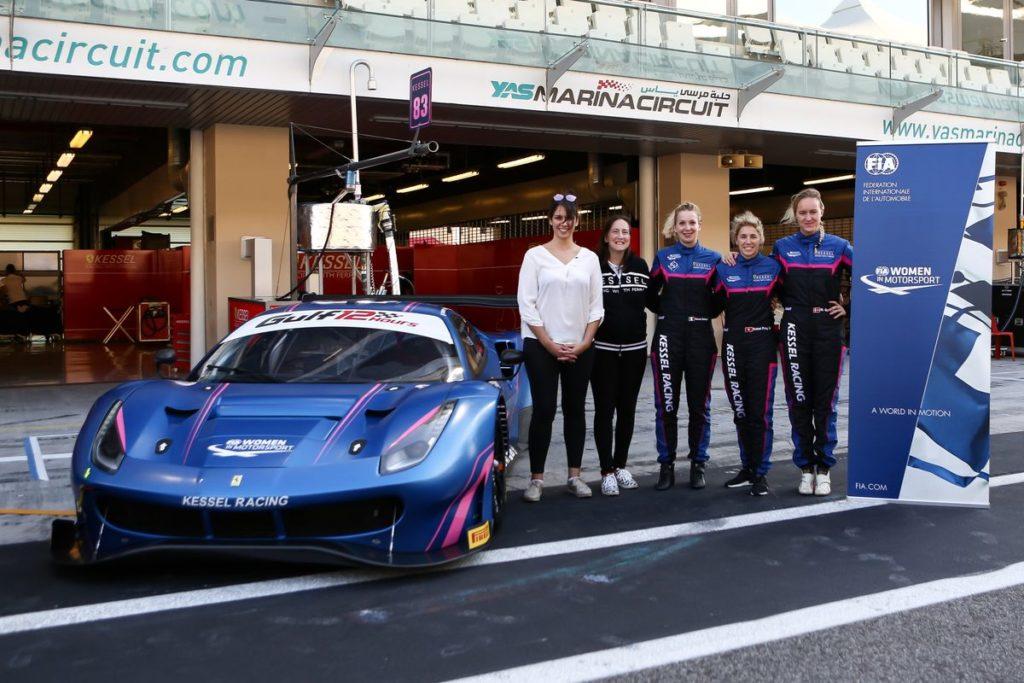 24h du Mans – Rahel Frey avec le Kessel Racing au départ de la 87ème édition