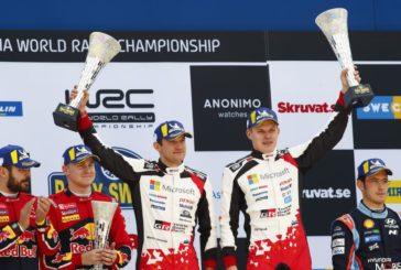 WRC – Ott Tanak tout schuss sur la neige suédoise