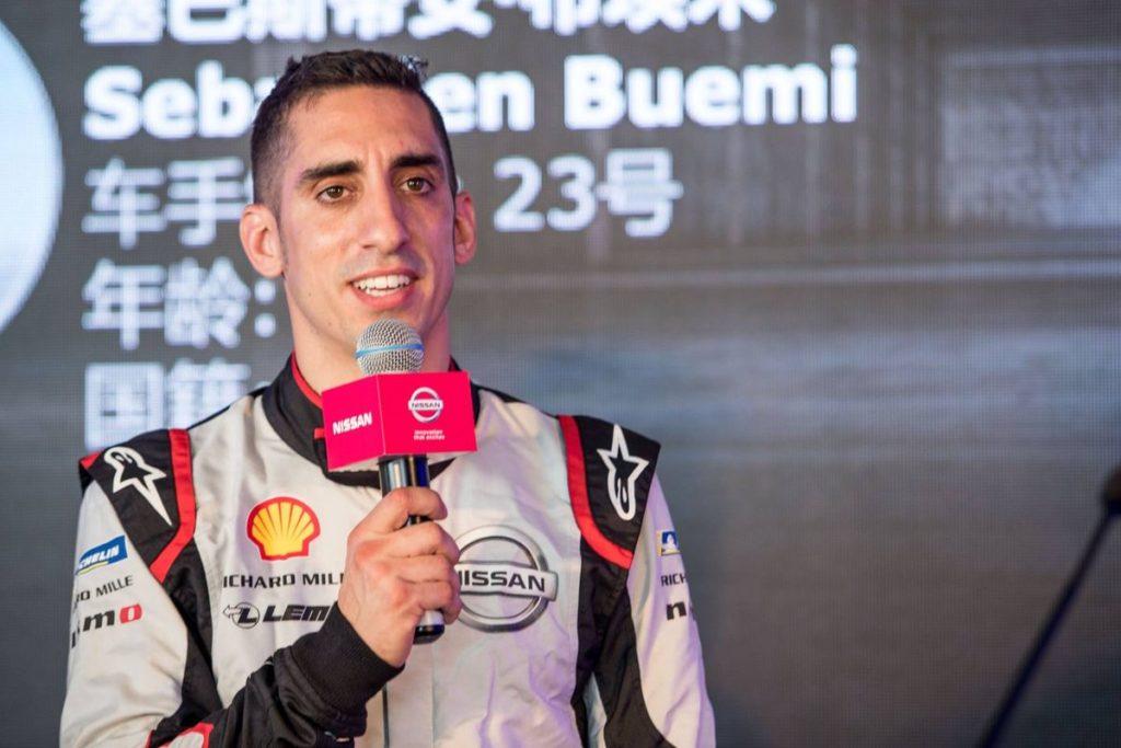 Formule E: Sébastien Buemi, 8e après une formidable remontée en Chine