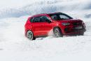 Le Cupra Ateca à l'épreuve sur neige et glace