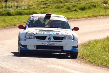 Rallye Pays du Gier – Sergio Pinto s'offre la première victoire du Trophée Michelin Suisse
