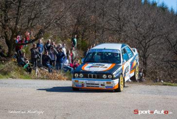 Rallye Pays du Gier – VHC : Marc Valliccioni survole les débats avec sa BMW M3