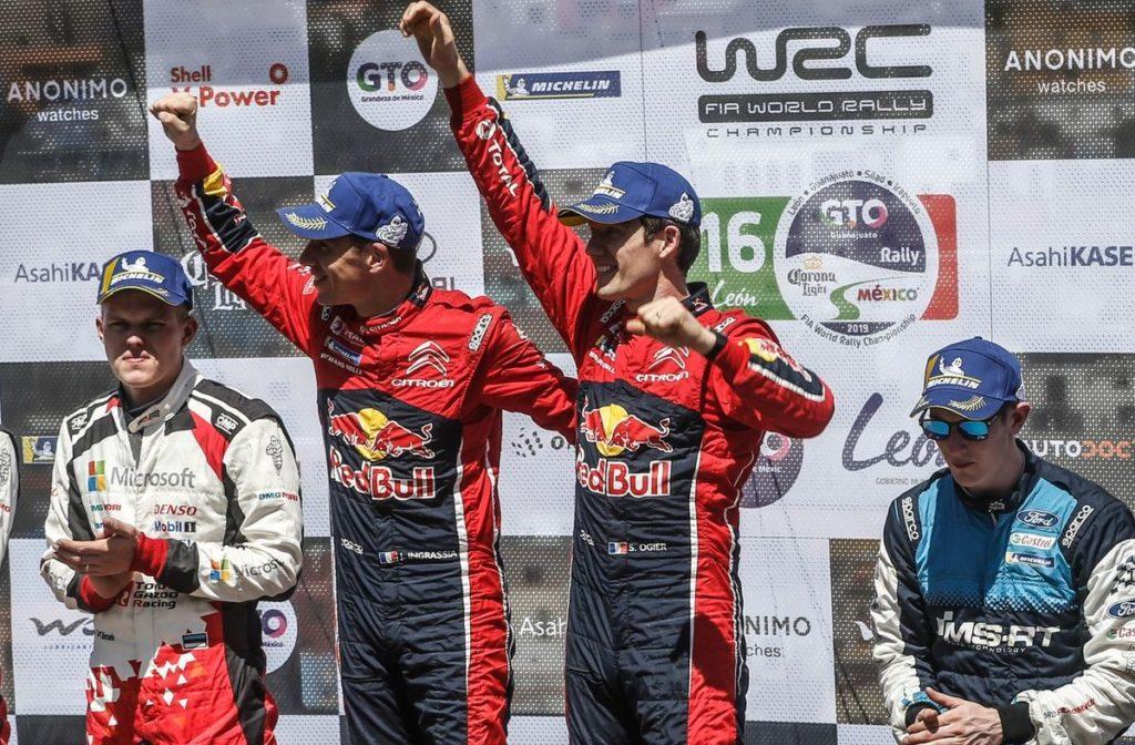 WRC - Sébastien Ogier fait le plein de point au Mexique