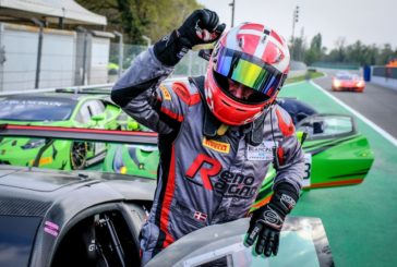 Jens Reno Møller dominates to win Blancpain GT Sports Club opener at Monza, a world first for the Honda NSX GT3 Evo