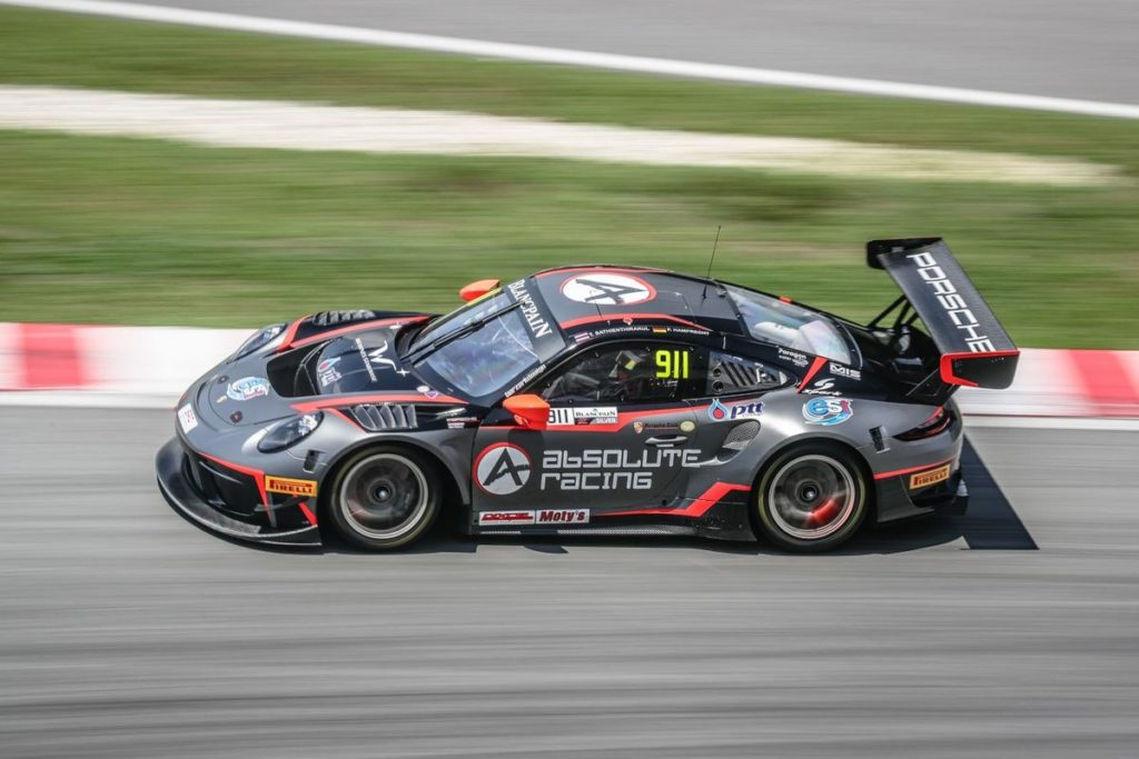 Blancpain GT WC Asia - King of Malaysia witnesses Absolute's Sathienthirakul and Hamprecht win Race 2 at Sepang